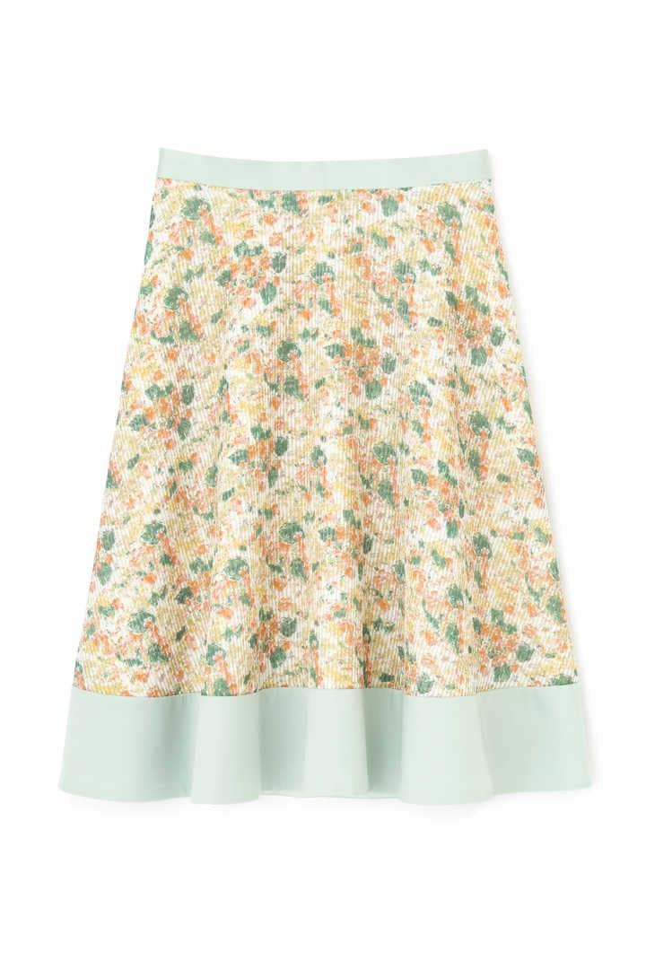 レーシーフラワースカート