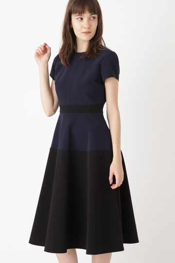 《Endy ROBE》カラーブロックドレス