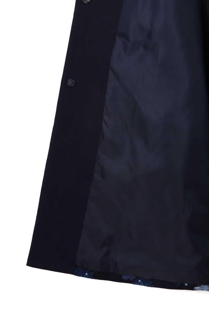 リン刺しゅうAラインコート