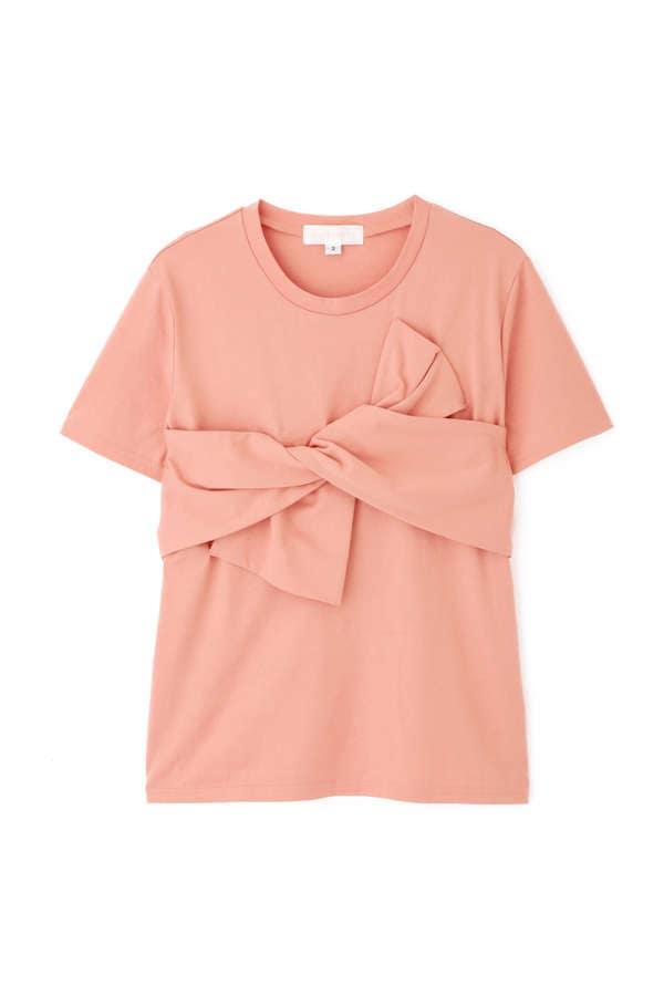 フロントボウTシャツ
