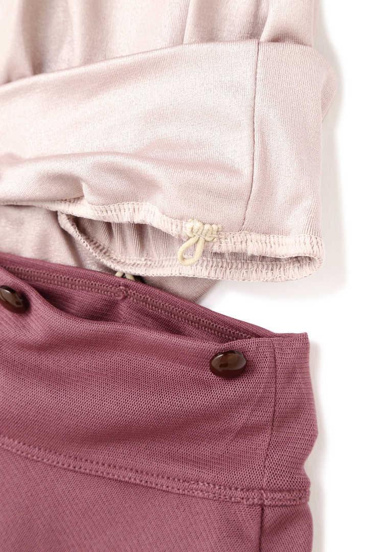 《JILLSTUART Yoga》無地×ラメ無地×ソフトメッシュレイヤードタンク取り外しスカート