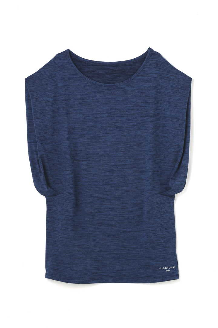 《JILLSTUART Yoga》kasuriスリーブデザインTシャツ