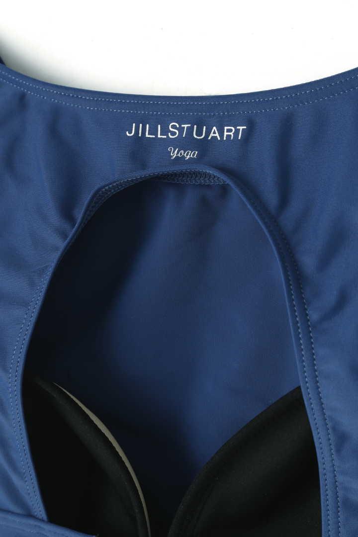 《JILLSTUART Yoga》フリルブラトップ