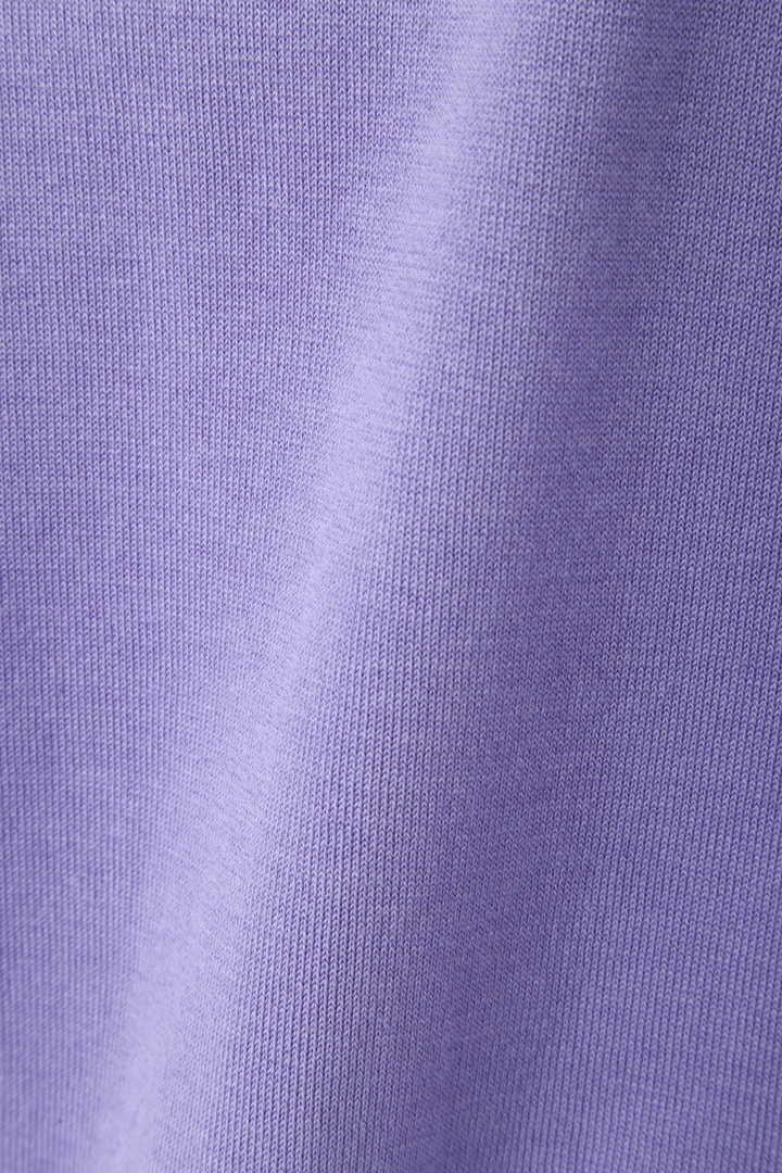 セシルバックパール調付半袖ニット