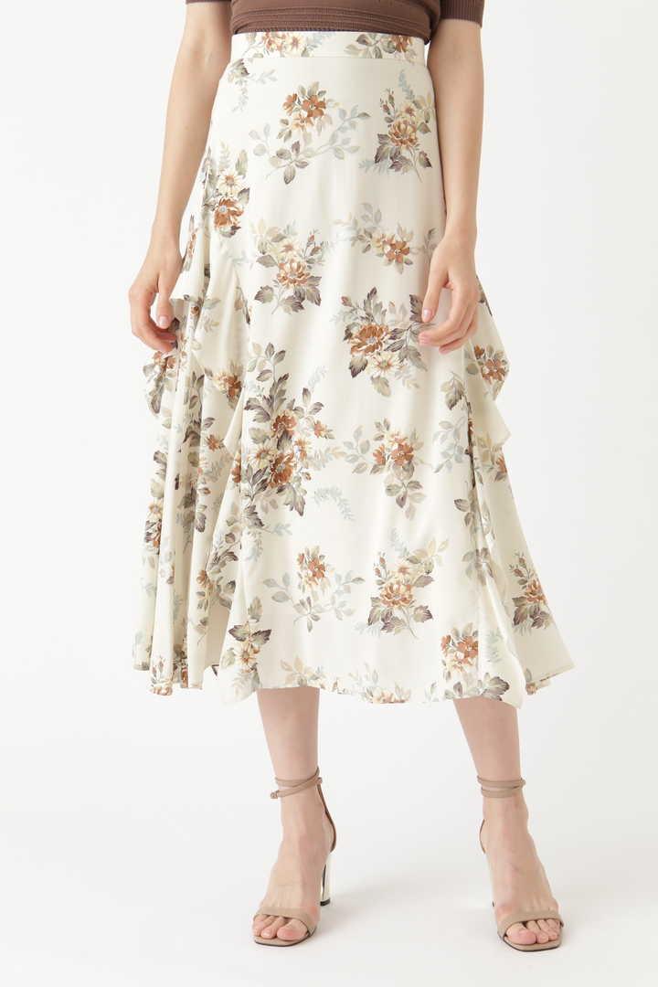 メリンダフラワー柄スカート
