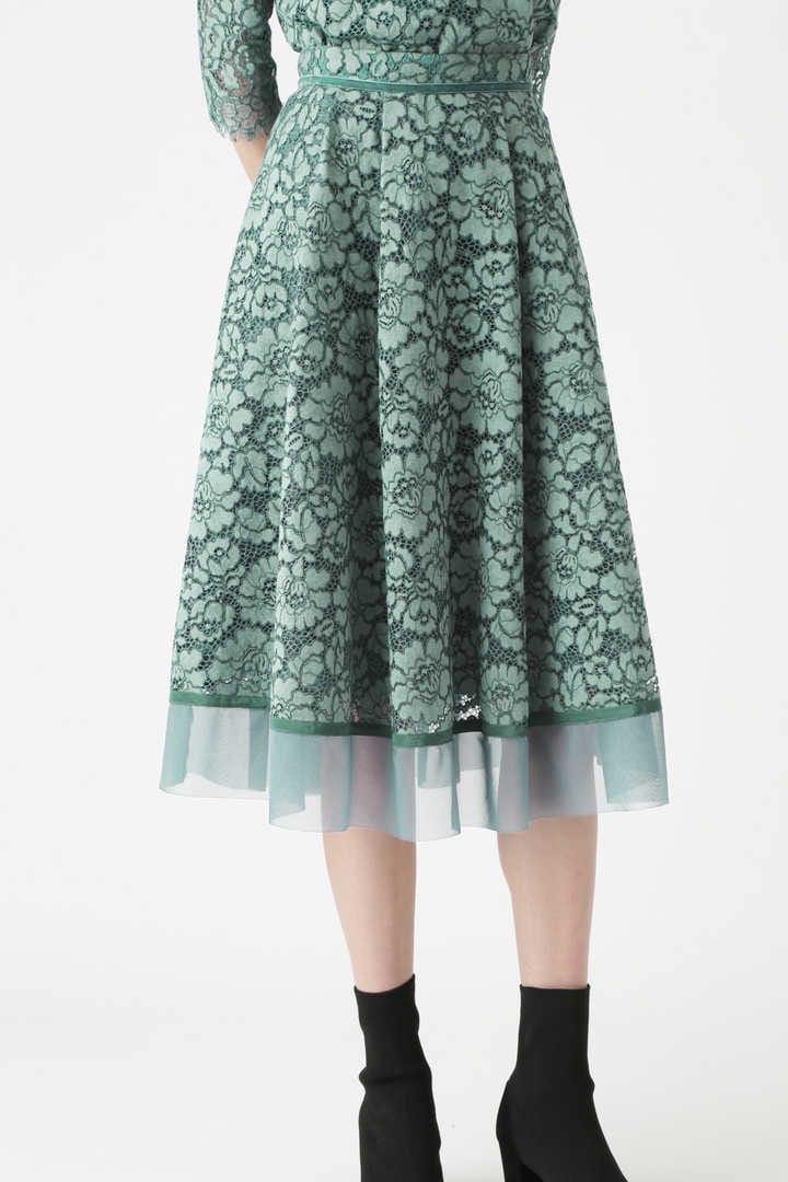 《Endy ROBE》メーガンレーススカート