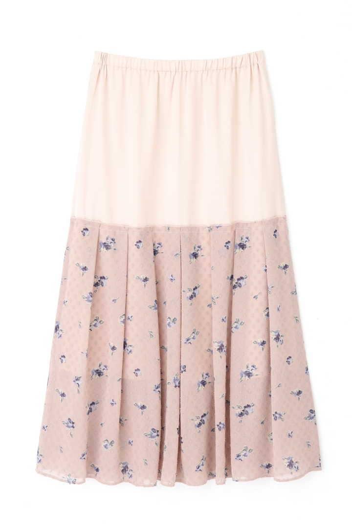 リタフラワーニットドレス