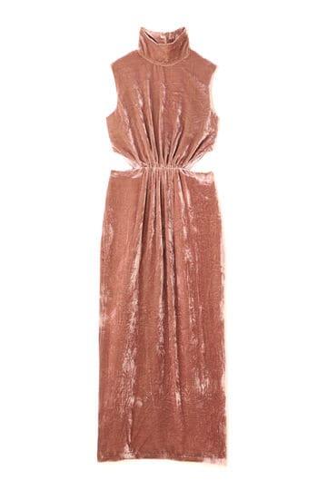 《JILLSTUART White》イザベラベルベットロングドレス