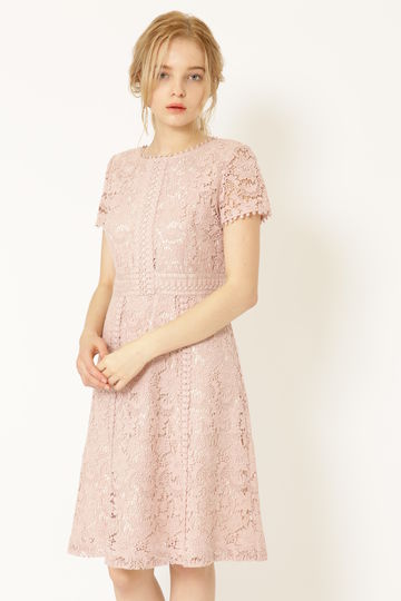 《JILLSTUART White》ヴェニーレースドレス