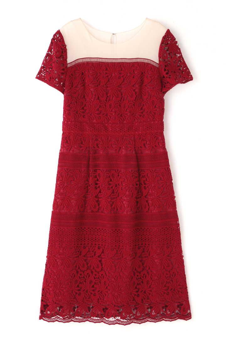 《JILLSTUART White》モンタニーケミカルレースドレス