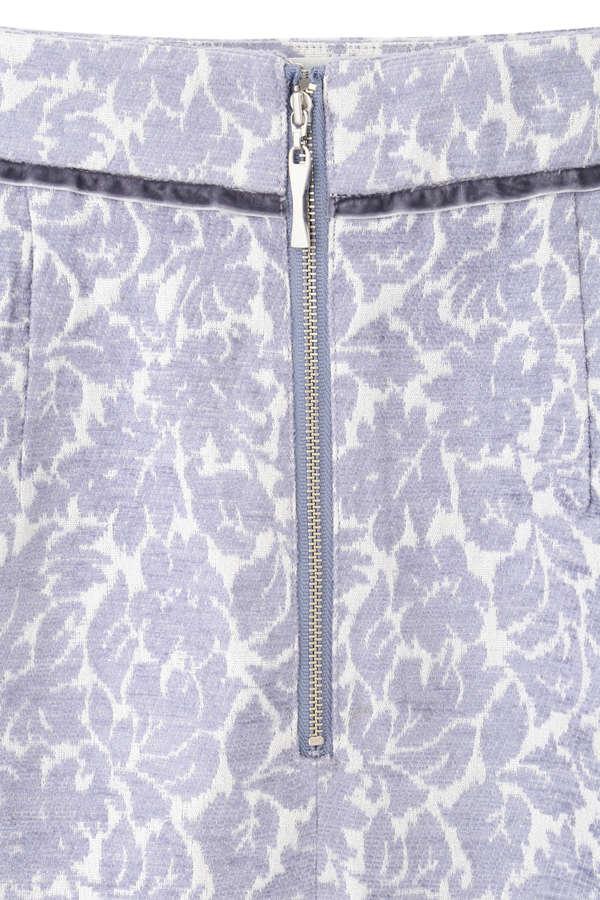 [堀田茜さん着用]ラメモールジャガードタイトスカート
