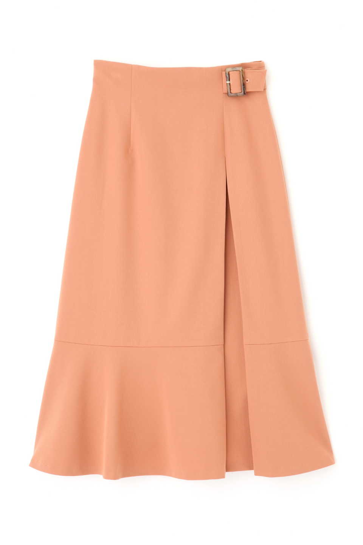 【公式/プロポーションボディドレッシング】サイドバックルマーメイドスカート<web限定>/女性/スカート/オレンジ/サイズ:2/(表生地)ポリエステル 75% レーヨン 20% ポリウレタン 5%(裏生地)ポリエステル 100%