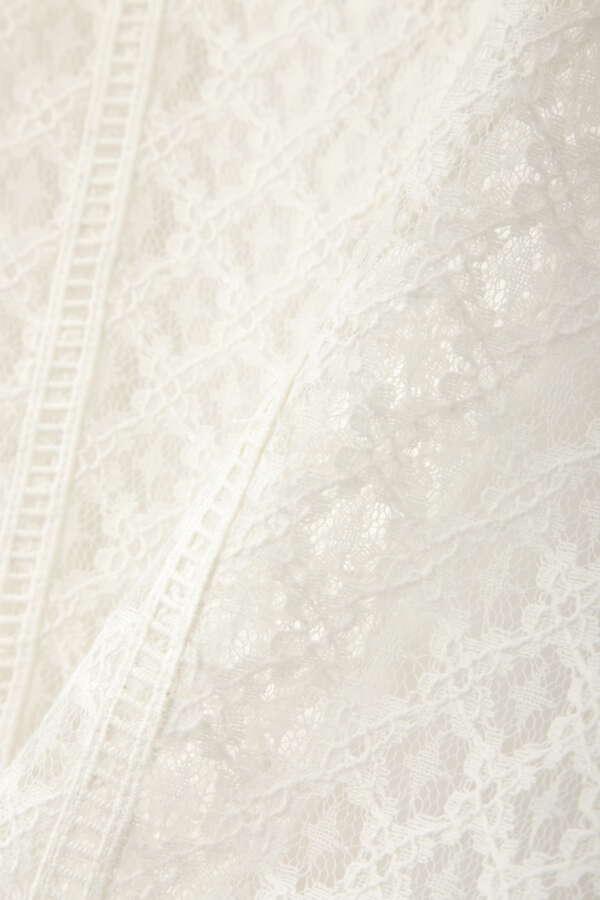 《田中みな実さん着用》クラシカルレースタイトスカート