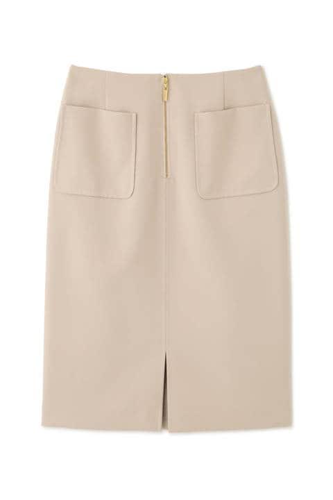 【先行予約1月下旬-2月上旬入荷予定】フロントファスナータイトスカート