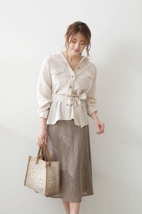 ミモレレーススカート