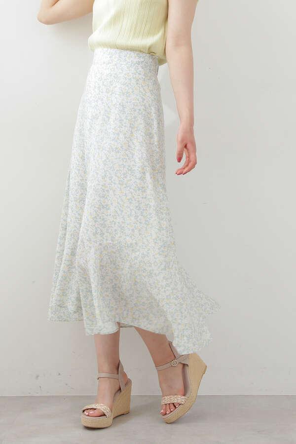 《EDIT COLOGNE》ランダムヘムマーメイドスカート