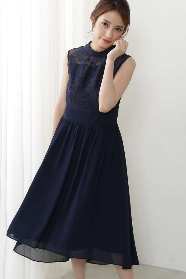 《Lou Lou Fee》バックレースアップドレス