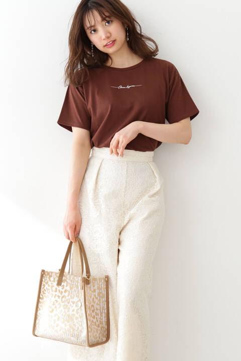 《EDIT COLOGNE》ロゴTシャツ