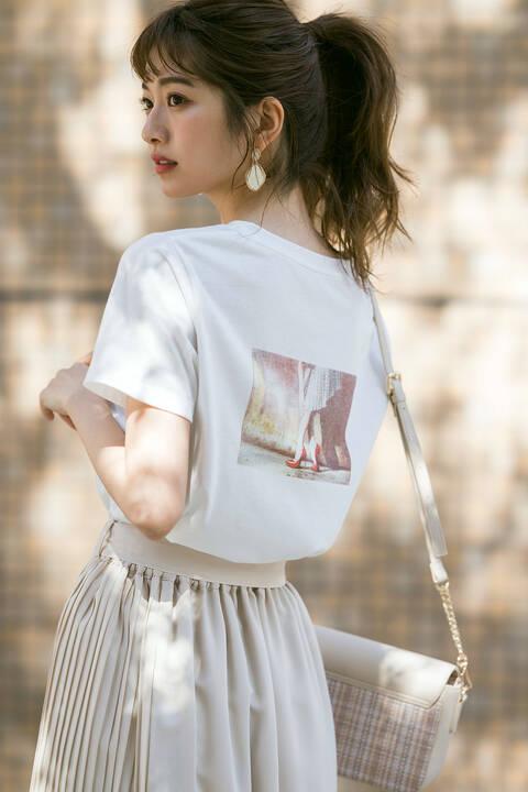《EDIT COLOGNE》バックプリントTシャツ