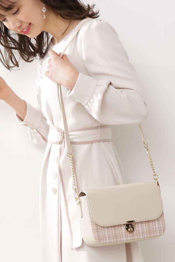 《田中みな実さん着用》《堀田茜さん着用》ミニポシェットショルダーバッグ