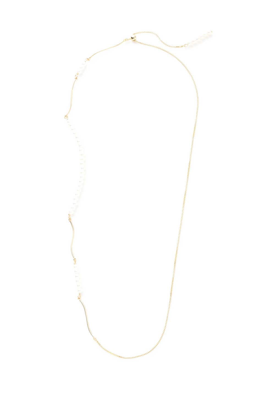 【公式/プロポーションボディドレッシング】デザインパール2Wayネックレス/女性/アクセサリー/ゴールド/サイズ:/