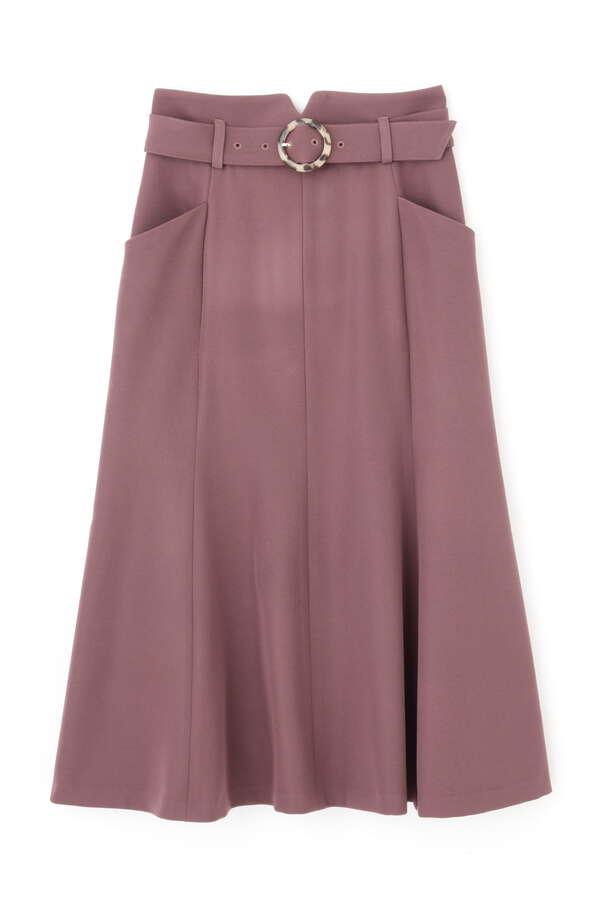 ベルト付マーメイドスカート