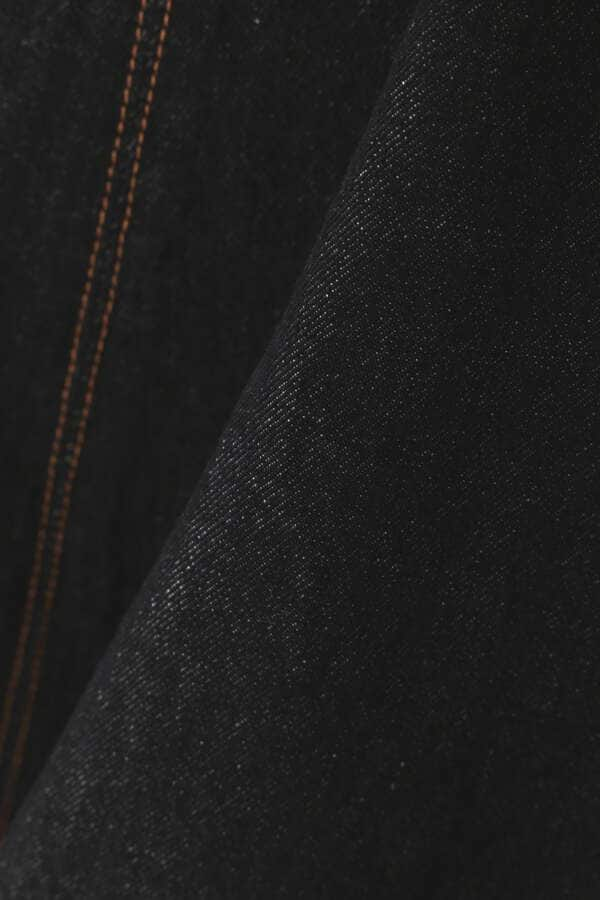 【追加生産予約9月上旬‐9月中旬入荷予定】マーメイドミモレデニムスカート【低身長サイズ展開あり】