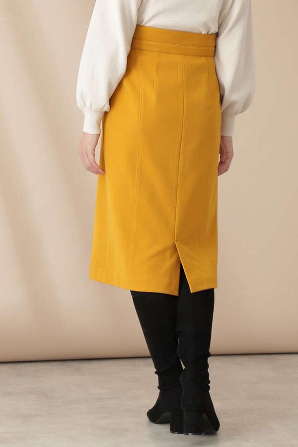 フロントファスナータイトスカート