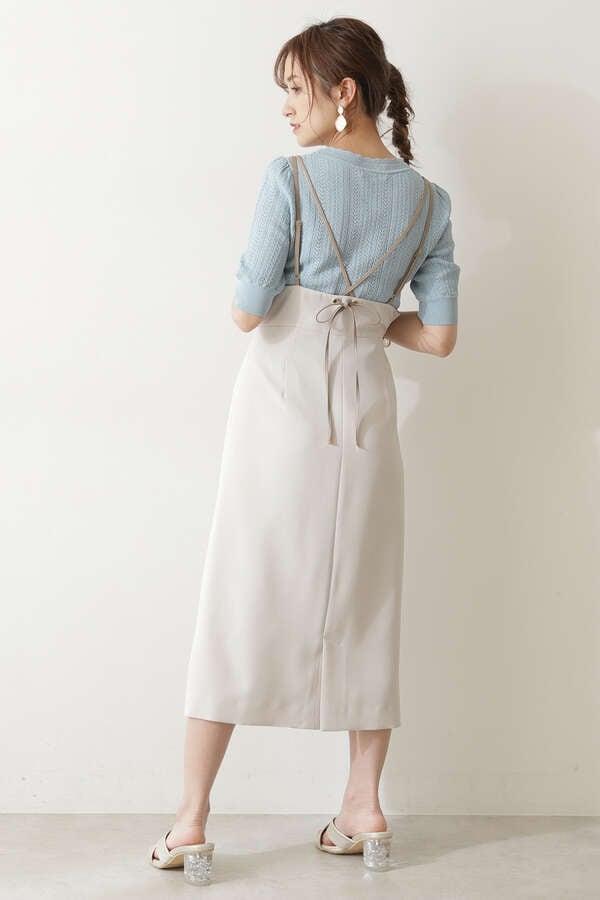ラップ風ジャンパースカート