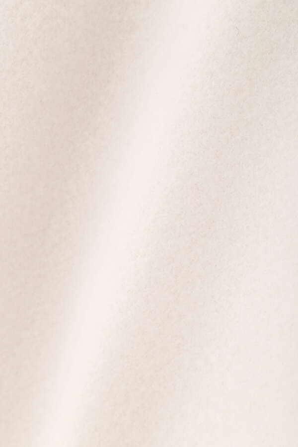 《堀田茜さん着用 美人百花11月号掲載商品》ノーカラーコート
