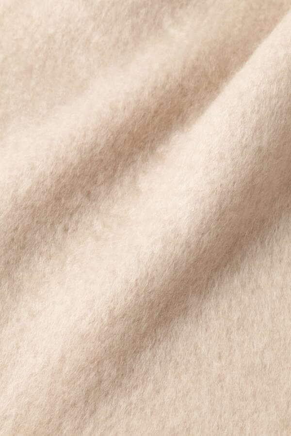 《美人百花11月号掲載商品》ブークレ無地ストール