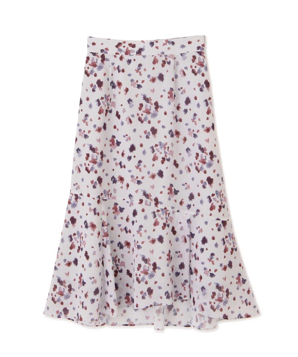 【公式/プロポーションボディドレッシング】ブラーリーマーメイドスカートWEB限定カラー:ベージュ/女性/スカート/モカブラウン/サイズ:M/(表生地)ポリエステル 100%(裏生地)ポリエステル 100%