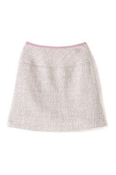 【CanCam 12月号掲載】ラメツィードスカート