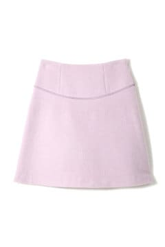 【美人百花 1月号掲載】《EDIT COLOGNE》台形ブークレーミニスカート