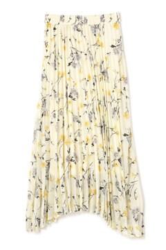《BLANCHIC》フラワープリーツスカート