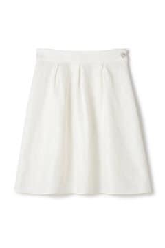 レースボンディングフレアスカート
