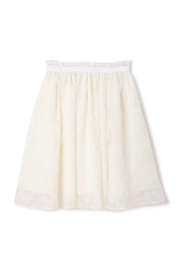 【Ray 4月号掲載】《EDIT COLOGNE》シアーチェックプチフラワースカート