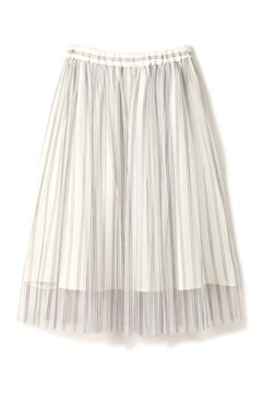 《EDIT COLOGNE》チュールストライプスカート