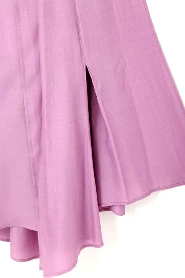 【先行予約_3月中旬入荷予定】《BLANCHIC》ランダムヘムマキシスカート
