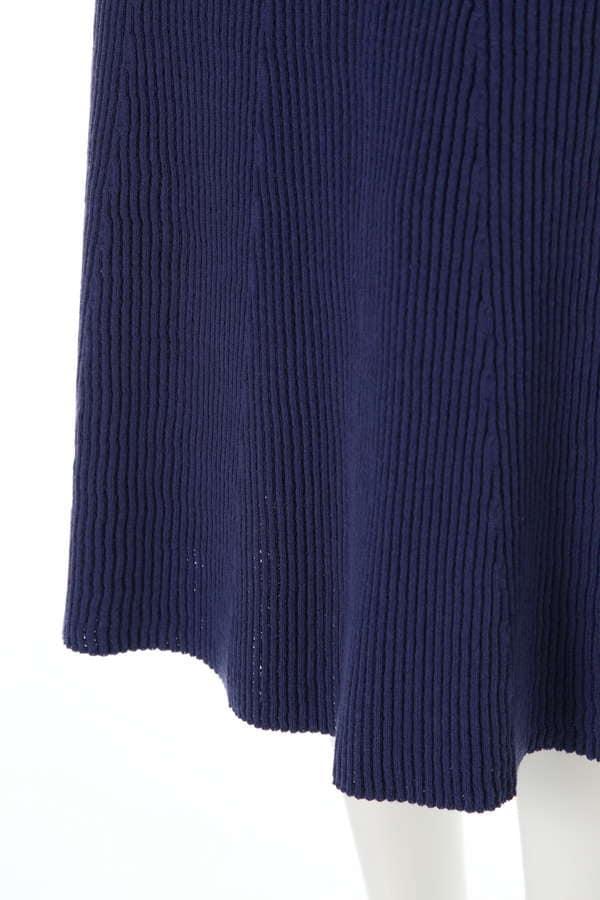 《BLANCHIC》アイレットリブスカート