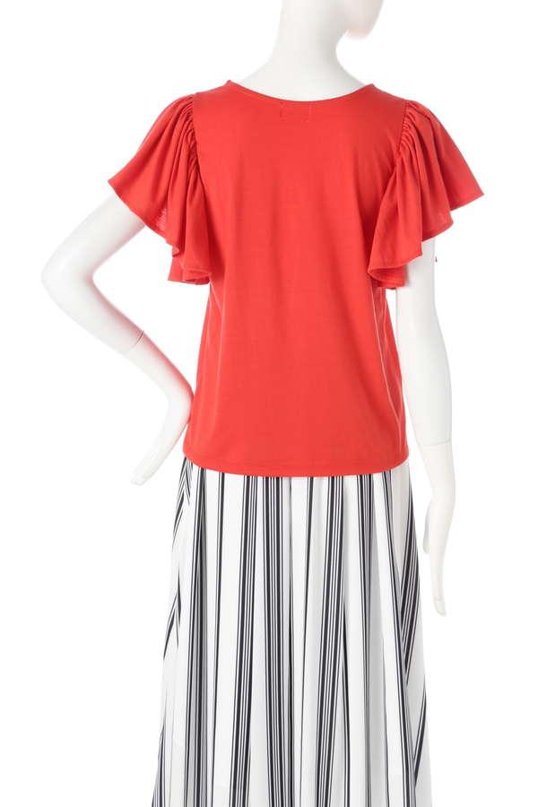 《BLANCHIC》ラッフルTシャツ