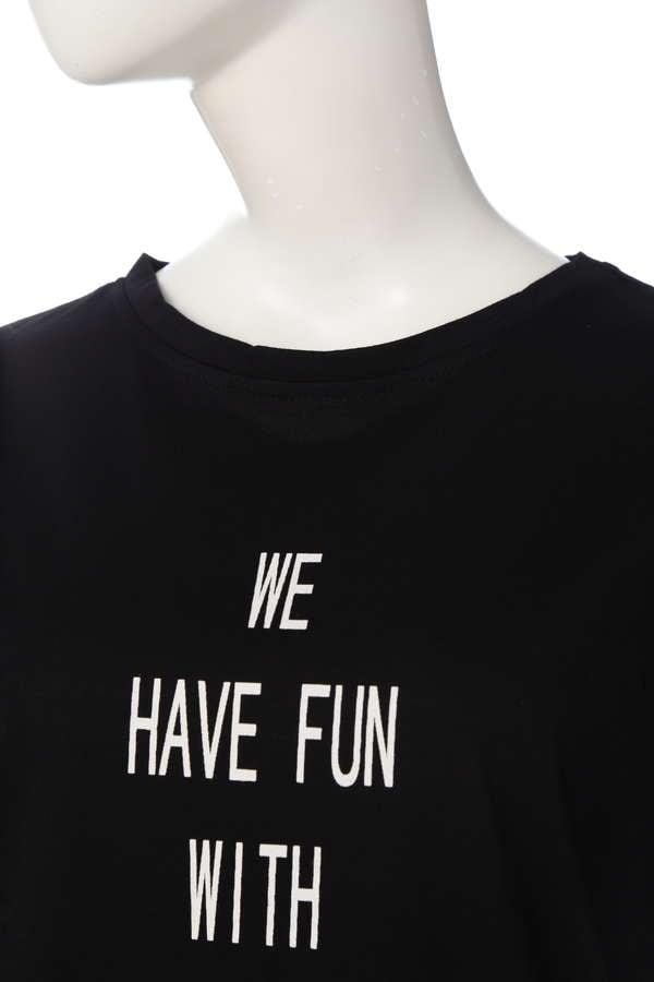 《BLANCHIC》天竺IロゴTシャツ