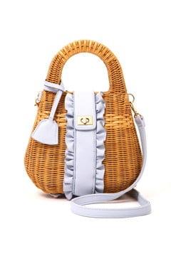 【美人百花 5月号掲載】《EDIT COLOGNE》くり手かごバッグ