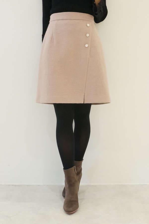 【cancam 12月号掲載】ビジューブークレースカート