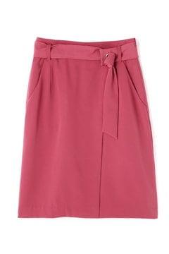 サッシュベルト付きタイトスカート