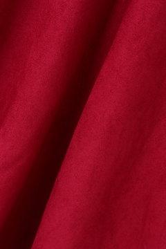 【cancam 11月号掲載】【美人百花 10月号掲載】サッシュベルト付きシルキースエードフレアスカート