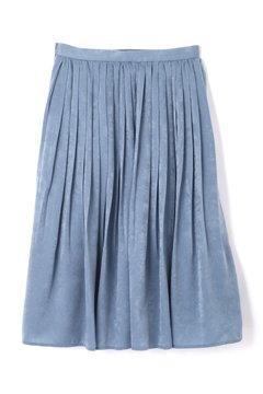 【先行予約_9月中旬入荷予定】マロンサテンプリーツスカート