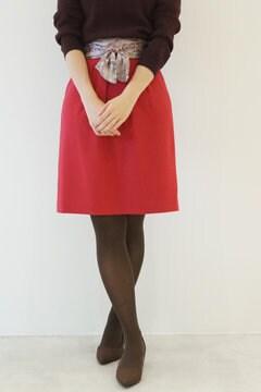 【cancam 11月号掲載】カラーサッシュスカーフ付スカート