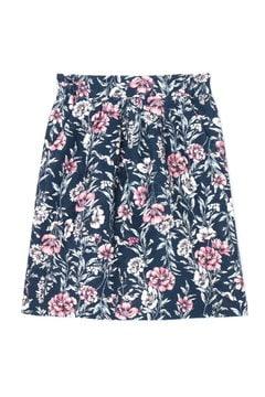 【先行予約_11月上旬入荷予定】ボタニカルジャガードプリントスカート