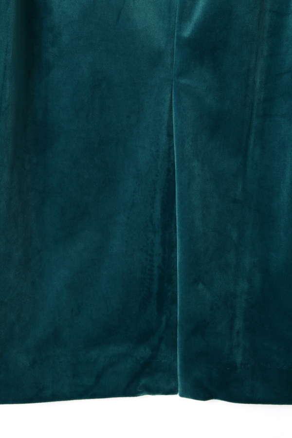 《BALNCHIC》カラーベロアスカート